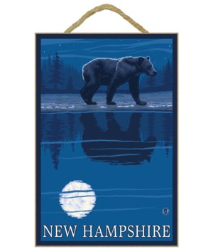 New Hampshire - Bear in the Moonlight -