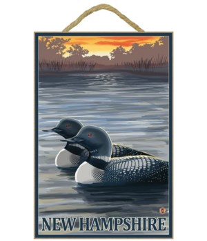 New Hampshire - Common Loon - Lantern Pr