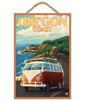 VW Van Cruising the Oregon Coast - Lante