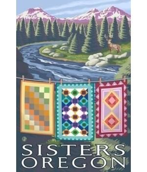 Sisters, Oregon - Quilts - Lantern Press