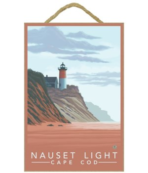 Nauset Light, MA - Lantern Press 7x10 Or