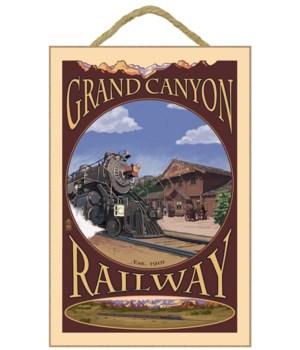 Grand Canyon Railway, Arizona - Lantern