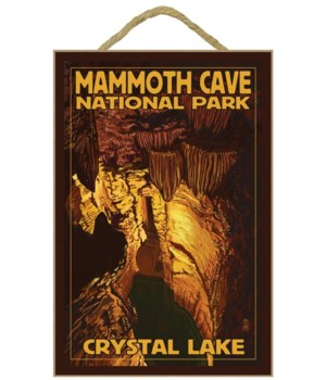 Mammoth Cave - Crystal Lake