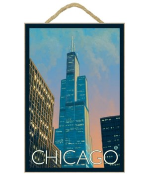 Chicago, Illinois - Sears Tower - Lanter