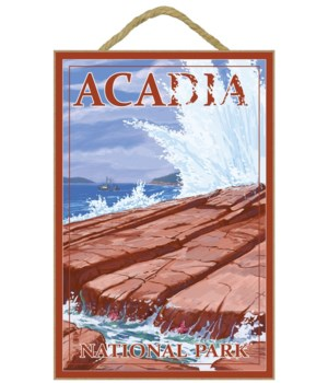 Acadia National Park, Maine - Waves and