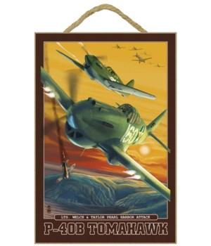 Pearl Harbor, Hawaii - P-40B Tomahawks -
