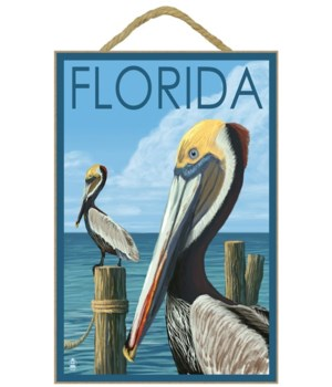 Brown Pelicans - Florida - Lantern Press