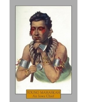 Young Mahaskah-Portrait of an Iowa Chief