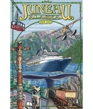 Juneau, Alaska - Views - Lantern Press 7