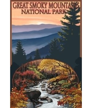 Great Smoky Mountains, TN Waterfall