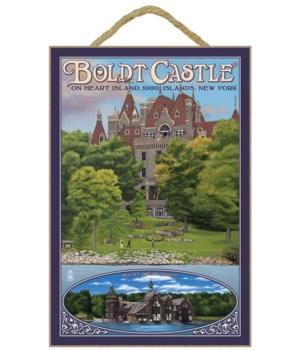 Boldt Castle - Thousand Islands, NY - La