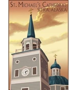Sitka, Alaska - St. Michael's Cathedral