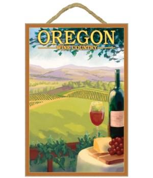 Oregon Wine Country - Lantern Press 7x10