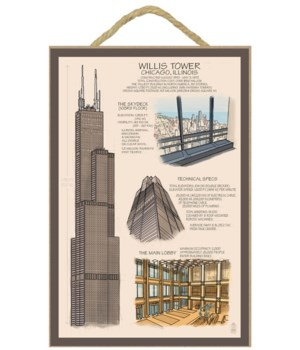 Chicago, Illinois - Willis Tower Technic