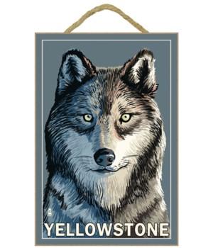Wolf Up Close - Yellowstone - Lantern Pr