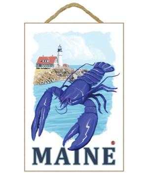 Blue Lobster & Portland Lighthouse - Mai