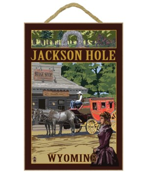 Jackson Hole, Wyoming Stagecoach - Lante