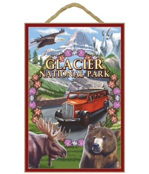 Glacier National Park Views - Lantern Pr