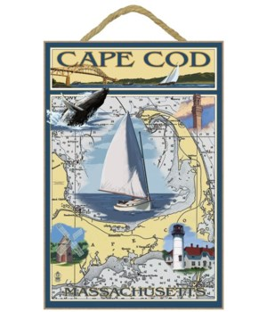 Cape Cod, Massachusetts Chart & Views -