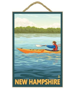 New Hampshire - Kayak Scene - Lantern Pr