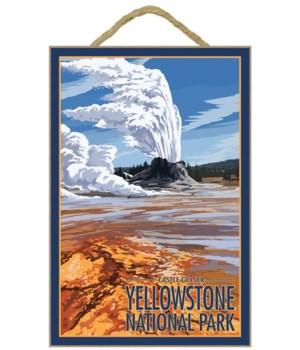 Castle Geyser - Yellowstone National Par