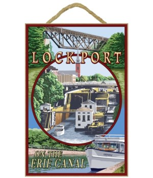 Lockport, New York - Montage - Lantern P
