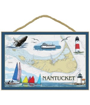 Nantucket, MA Nautical Chart - Lantern P