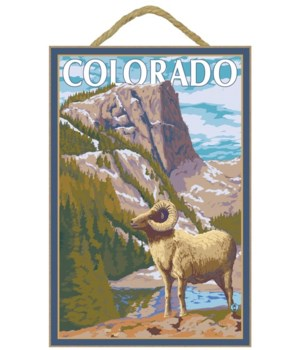 Colorado - Big Horn Sheep - Lantern Pres