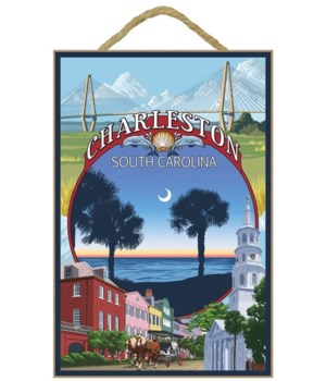 Charleston, South Carolina Town Views -