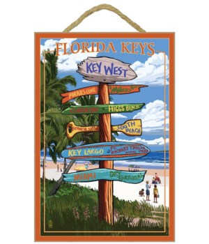 Key West, Florida - Destination Signs -