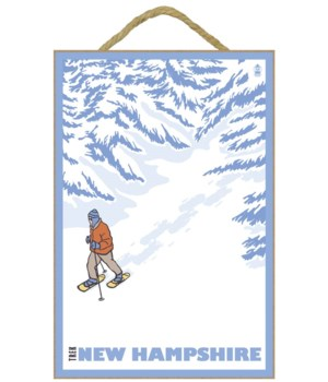 Trek New Hampshire - Snowshoer - Lantern