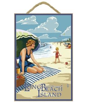 Long Beach Island, New Jersey Beach Scen