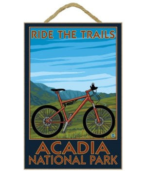 Acadia National Park, Maine - Bicycle Sc