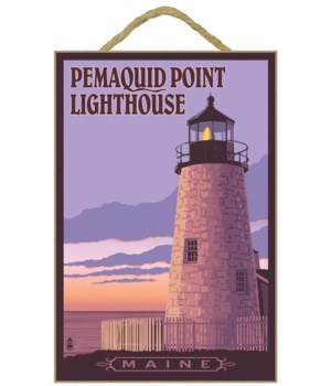 Pemaquid Lighthouse Sunset - Maine - Lan