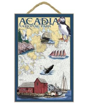 Acadia National Park, Maine - Nautical C