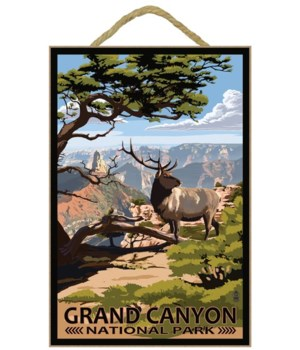 Grand Canyon National Park - Elk & Point