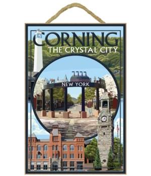 Corning, New York - Town Montage - Lante