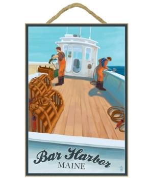 Bar Harbor, Maine - Lobster Boat - Lante