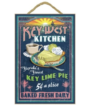 Key West, Florida - Key Lime Pie Vintage