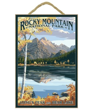 Longs Peak & Bear Lake Fall - Rocky Moun