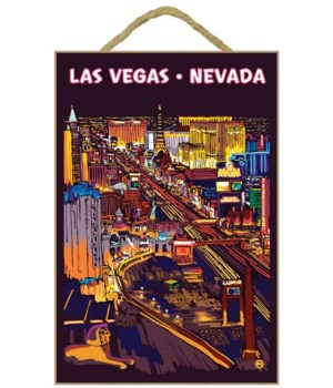 Las Vegas Strip at Night - Lantern Press