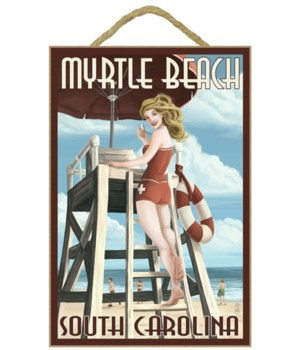 Myrtle Beach, South Carolina - Pinup Gir