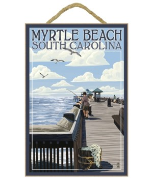 Myrtle Beach, South Carolina - Pier Scen