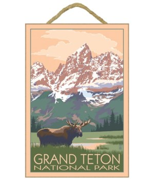 Grand Teton National Park - Moose & Moun