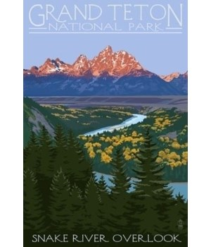 Grand Teton National Park - Snake River
