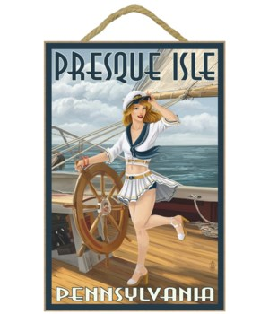 Presque Isle, Pennsylvania - Pinup Girl