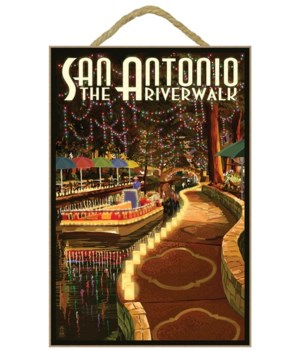 The Riverwalk - San Antonio, Texas - Lan