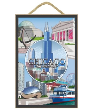 Chicago, Illinois - The Windy City - Mon