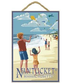 Nantucket, Massachusetts - Kite Flyers -
