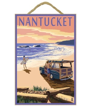 Nantucket, Massachusetts - Woody on Beac